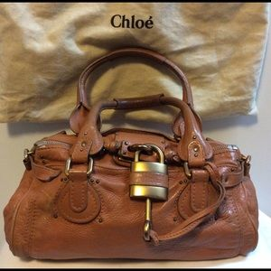 CHLOE Paddington Shoulder Bag 100% Authentic